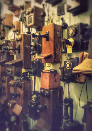 Antique Phone Photo Art by Lisa Howarth Contact me