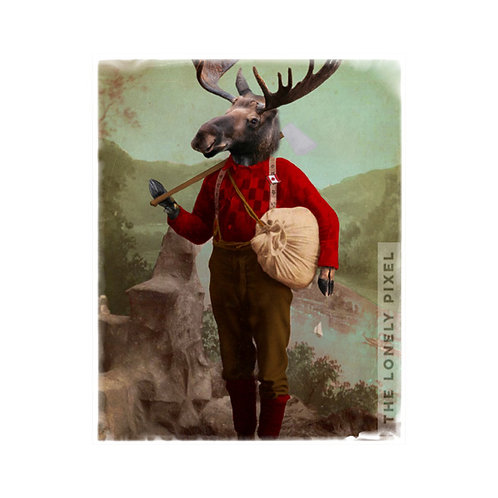 Lumberjack Marvin Moose