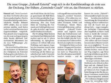 """""""Frank Meier will Extertaler Bürgermeister werden"""""""