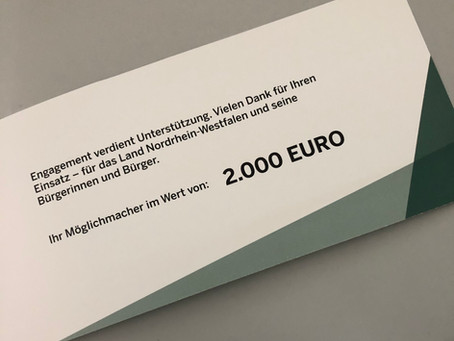 """Unser Wahlversprechen """"Ehrenamt aktiv unterstützen"""" - Förderung für den Rosenberg in Almena erhalten"""