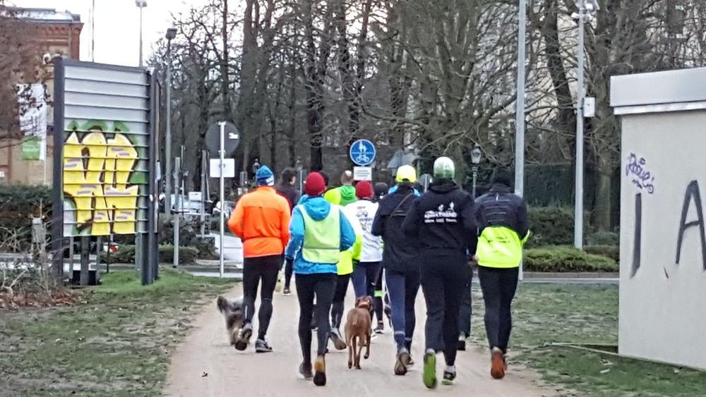 [4,1 km] am Mittelweg