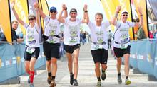 Lauftreff Braunschweig erneut siegreich beim 254 km Lauf von Hamburg nach St. Peter-Ording