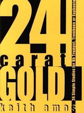 24 Carat Gold Trumpet Studies Amos