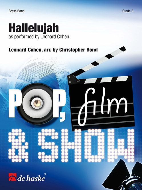Hallelujah, arr by Christopher Bond for brass band
