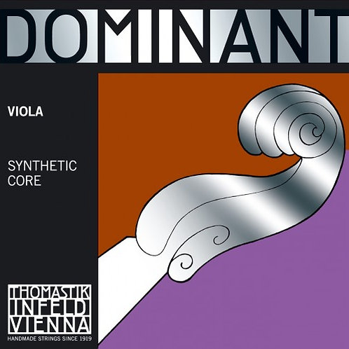 Viola string, D, Dominant synthetic core, Aluminium wound