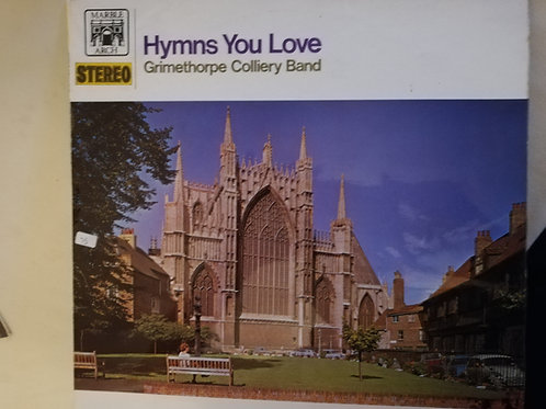 Hymns You Love Grimethorpe Band  Vinyl Clock