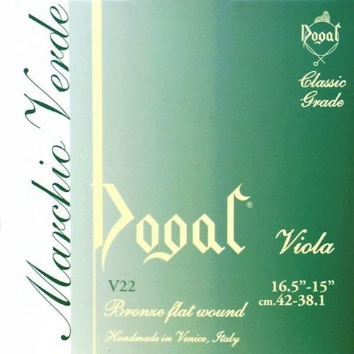 Viola string, G Dogal Green tag