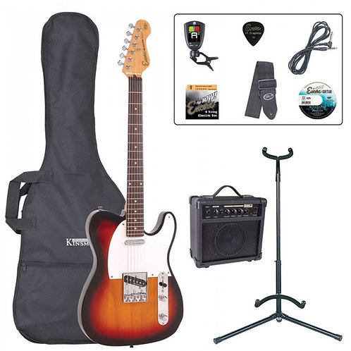 Encore E2 Electric Guitar Pack