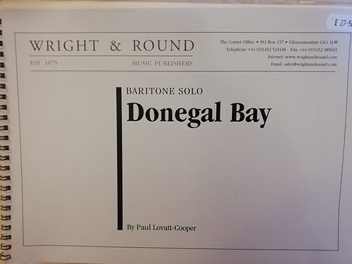 Donegal Bay  - Baritone solo with Brass Band