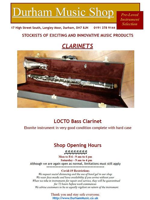 Locto Bass Clarinet