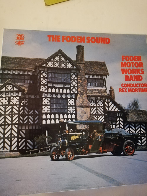 The Foden Sound Foden Motor Works Band Vinyl Clock