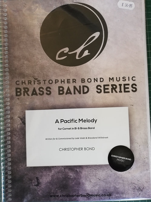 A Pacific Melody, Christopher Bond - Brass Band