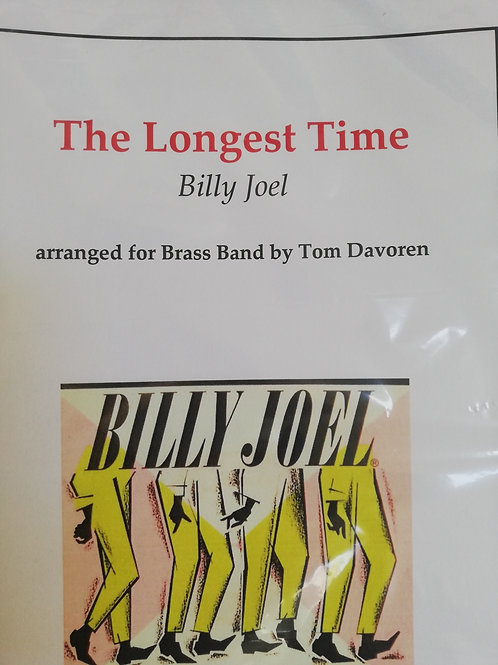 The Longest Time - arr TomDavoren