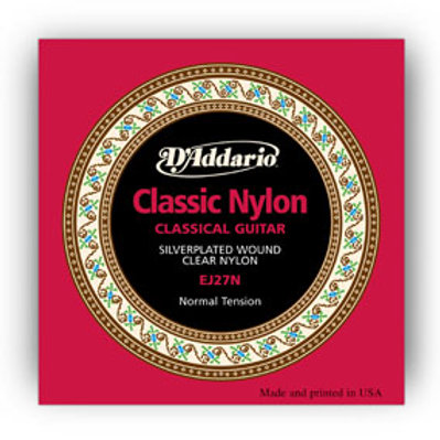 D'Addario Classical Guitar Nylon E-6th String