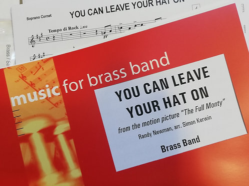 You Can Leave Your Hat On - Brass Band