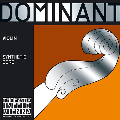4/4 VIOLIN E. CHROME STEEL (LOOP)  DOMINANT