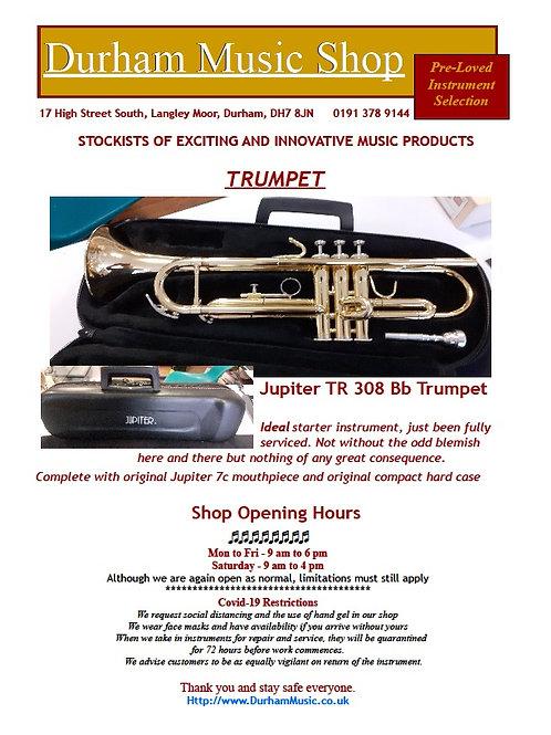 Jupiter JTR-308 Trumpet - Lacquer