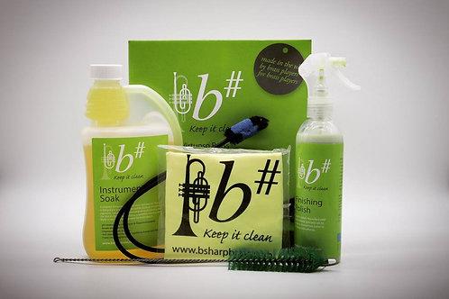 B# Virtuoso Brass Instrument Cleaning Kit