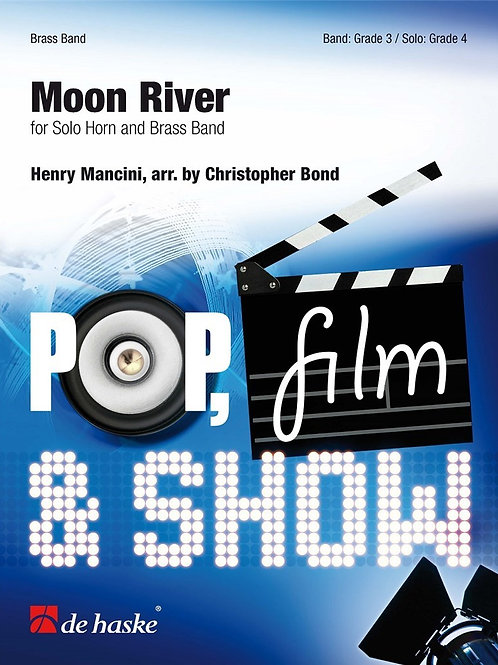 Moon River - Eb Horn and Brass Band