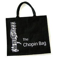 Music Shop in Durham Chopin Bag