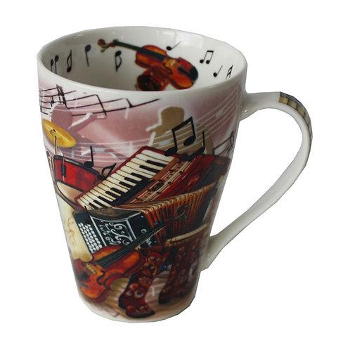 Country Music China Mug