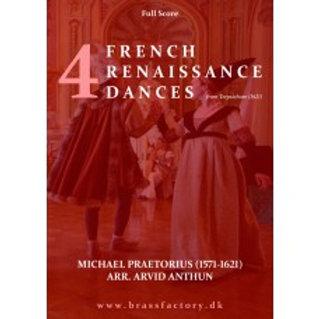 4 French Renaissance Dances from Terpsichore(1621)