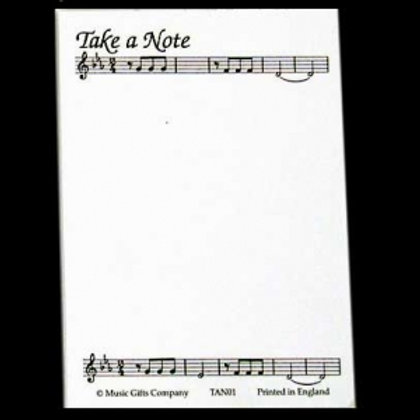 Take A Note Notepad