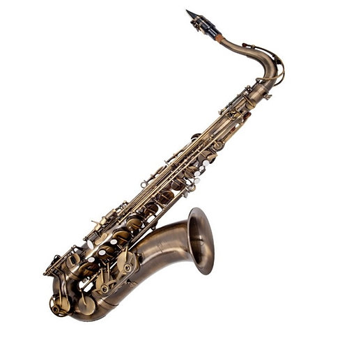 ODYSSEY SYMPHONIQUE 'Bb' TENOR SAXOPHONE OUTFIT ~ DISTRESSED