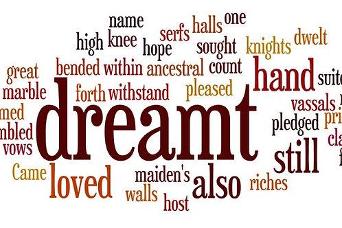 I Dreamt I Dwelt In Marble Halls