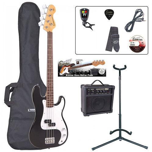 Encore E4 Bass Guitar Pack