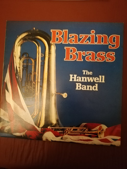 Blazing Brass  The Hanwell Band Vinyl Clock