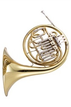 JP263Rath Bb/F French Horn comp - gold lacquer