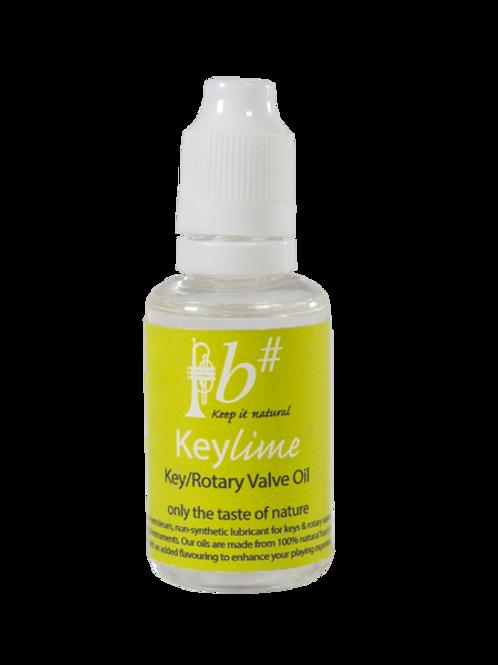 Key Lime - Key/Rotary valve Oil -B# - 30ml bottle
