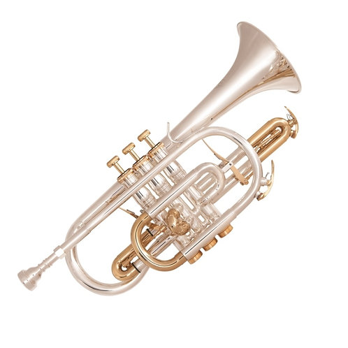 ODYSSEY SYMPHONIQUE 'Bb' CORNET OUTFIT ~ SILVER PLATED