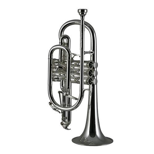 Catelinet Rousseau Bb cornet - Silver