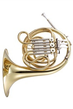 JP162 Mini French Horn F - gold lacquer