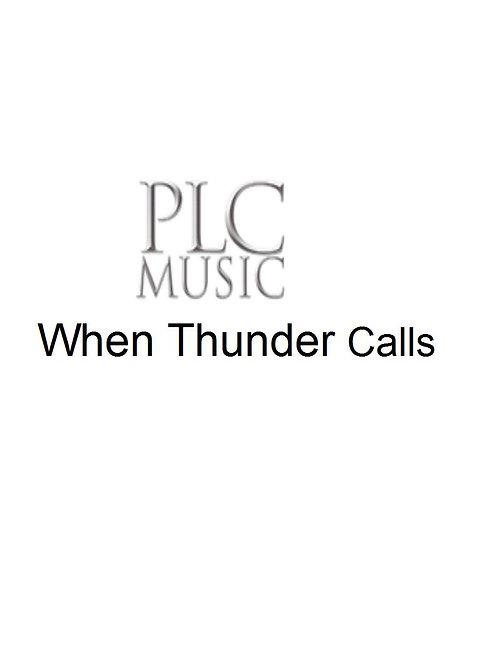 When Thunder Calls