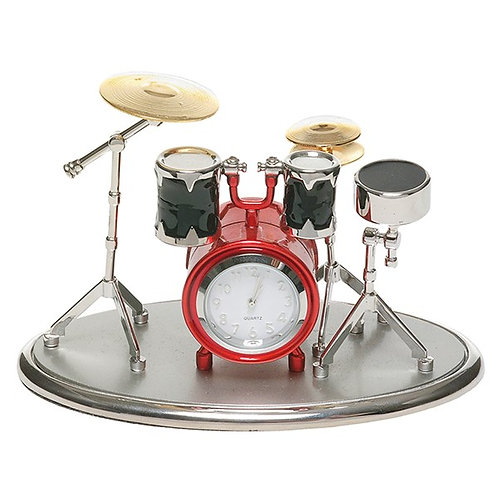 Drum Kit Clock