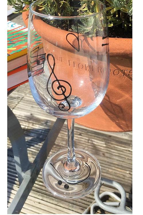 Wine Glass - Music Theme