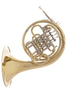 JP163 Bb/F French Horn - gold lacquer