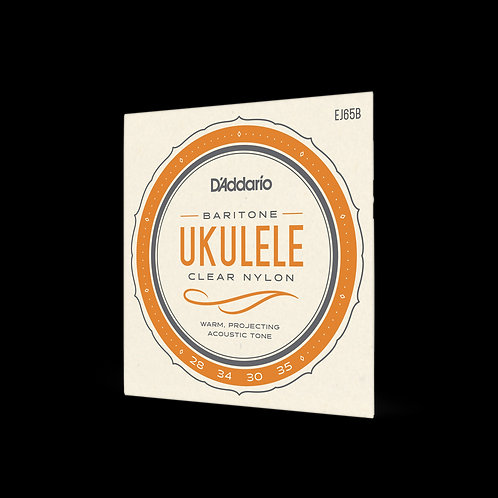 Ukulele Baritone EJ65B Clear Nylon strings