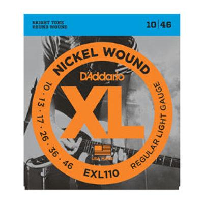 D'addario Acoustic Guitar set EXL110 Regular LIght