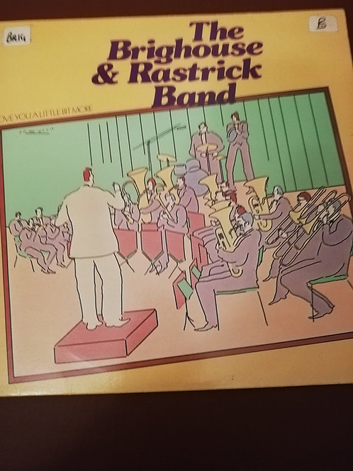 Love You A Little Bit More Brighouse & Rastrick Vinyl Clock