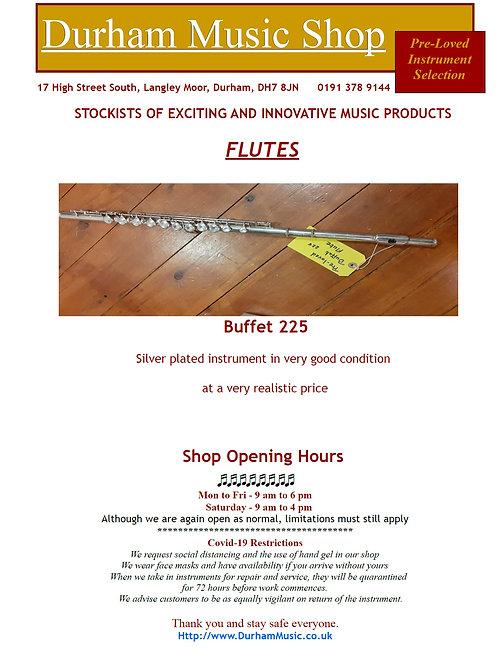 copy of Buffet 225 Flute in Case