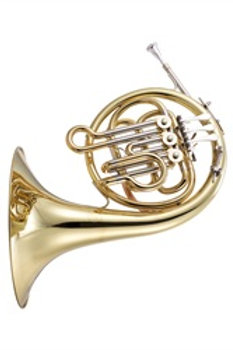 JP161 Mini French Horn Bb - gold lacquer