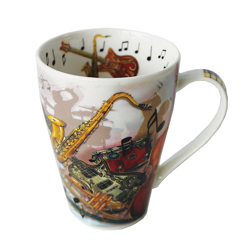 Rock & Jazz China Mug
