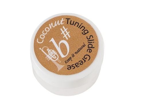 Coconut Tuning Slide Grease - B# - 10ml bottle