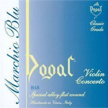 Violin Concerto strings G, 4/4 Dogal Blue tag