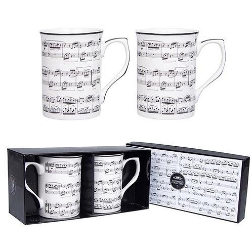 Making Music Mug gift set of 2