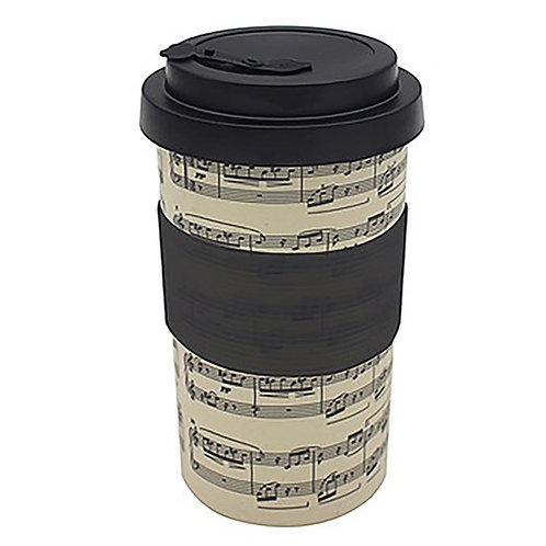 Making Music Bamboo travel Mug